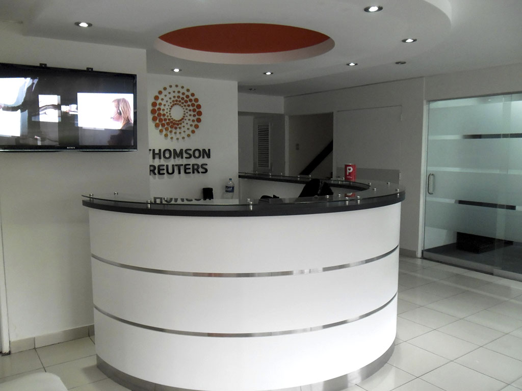 Recepción Thomson Reuters