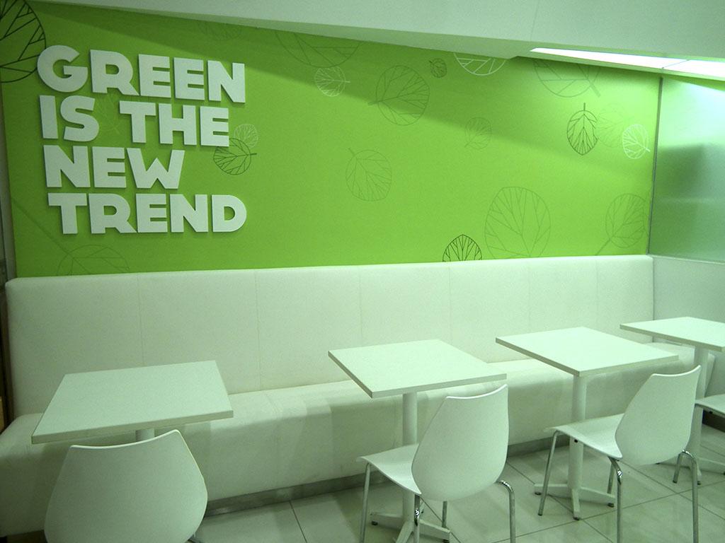 Green station