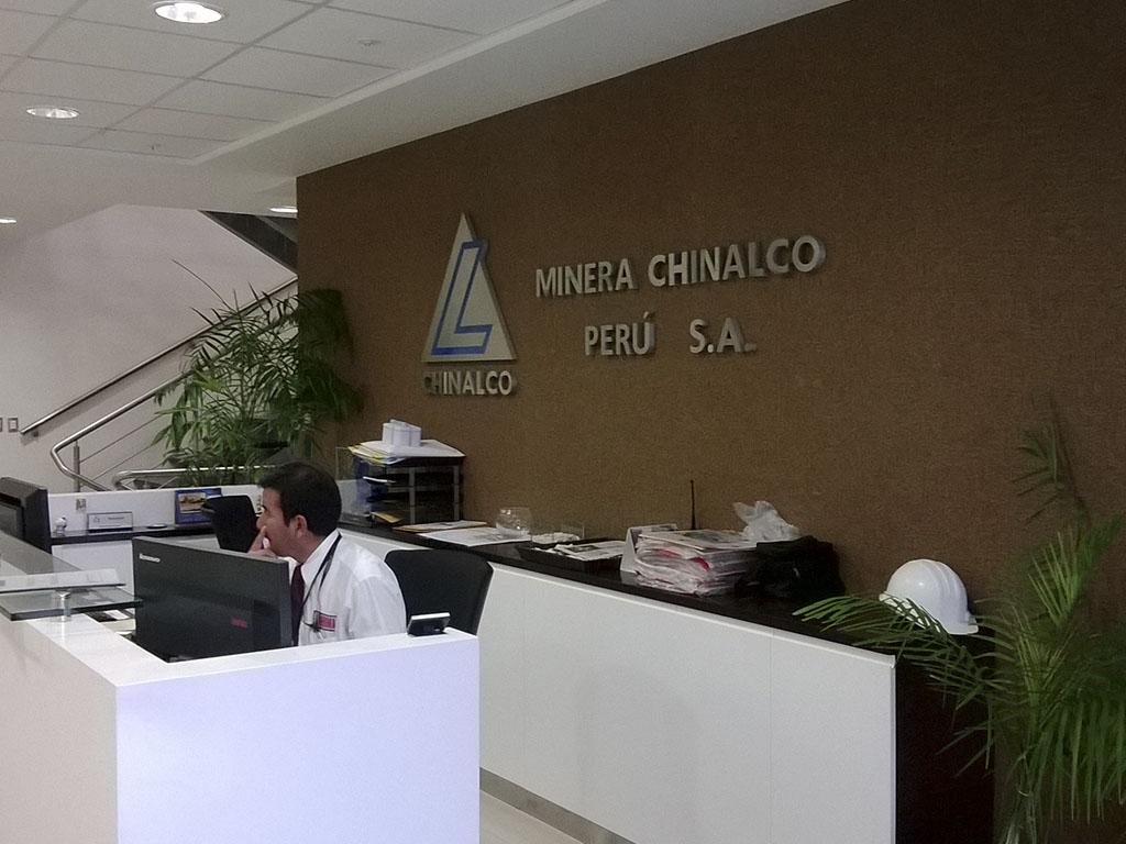 Oficinas Chinalco Peru S.A.